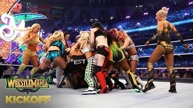 wrestlemania 35 women