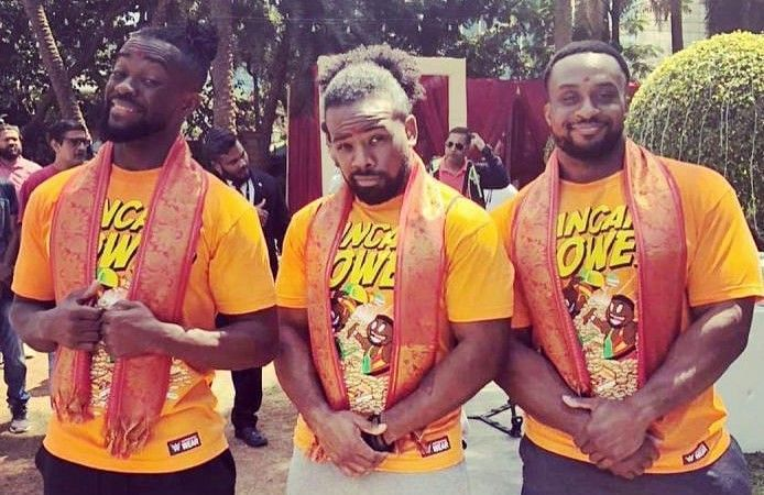 The New Day are gold together