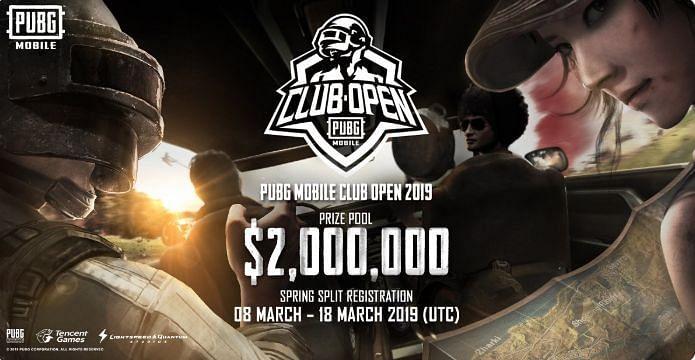 PUBG Mobile Club Open Tournament 2019