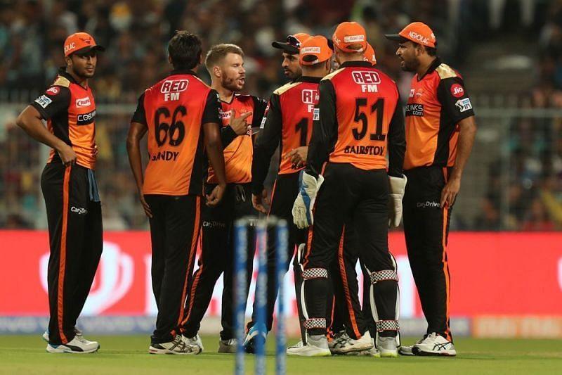 Sunrisers Hyderabad (Image Courtesy - iplt20/BCCI)