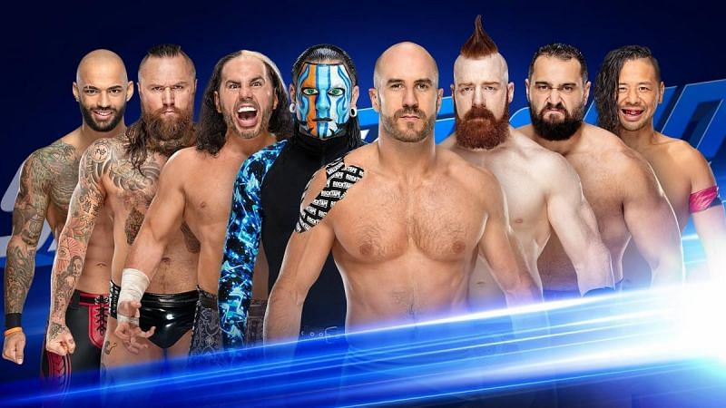 A huge tag match on SmackDown