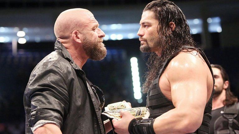 Triple H and Roman Reigns share an eventful history