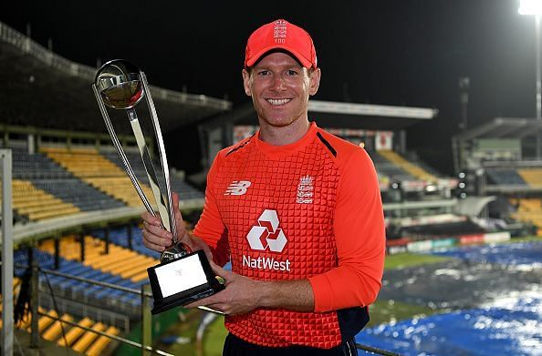 Morgan was part of the 2010 T20 World-cup winning team of England