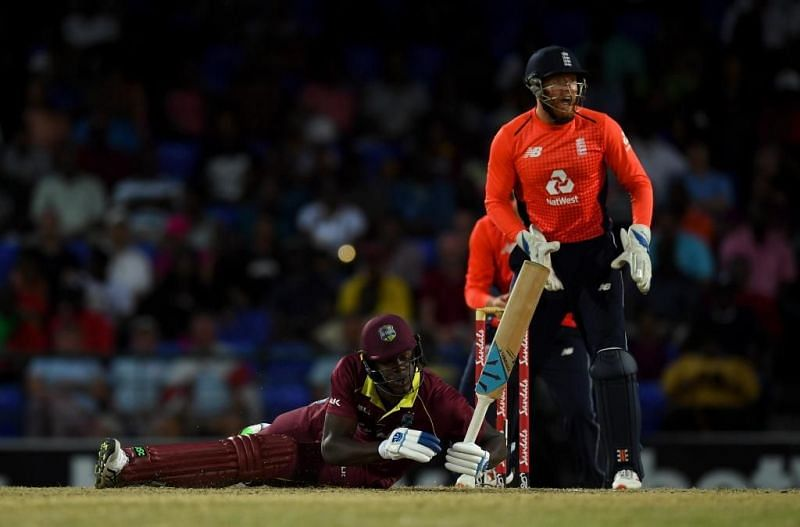 Windies All out for just 45 runs