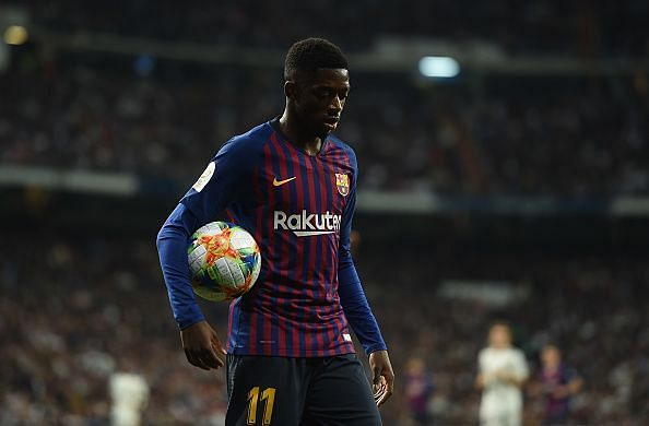 The attacker is gradually fulfilling his potential at Nou Camp