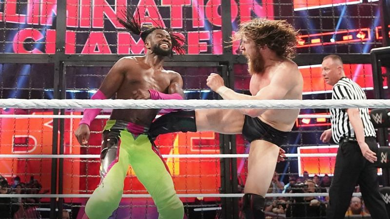 Kofi Kingston would have to weather a lot of punishment to come from behind and win.