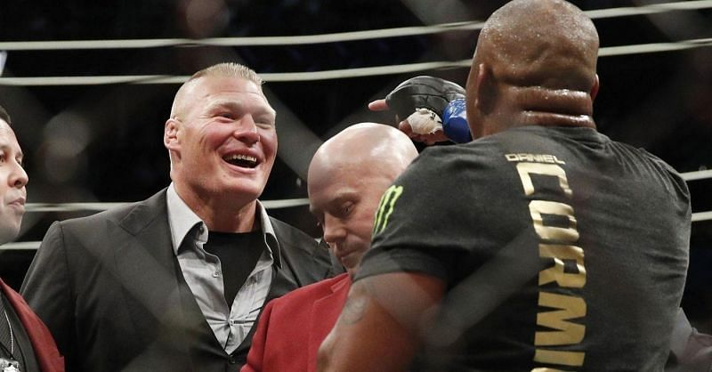 Brock Lesnar could face UFC Heavyweight Champion Daniel Cormier in an MMA fight later this year