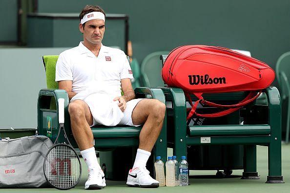 Federer won his first match 6-1 7-5 against PeterGojowczyk