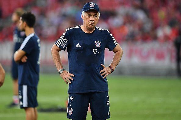 Ancelotti lost the dressing room at Bayern Munich