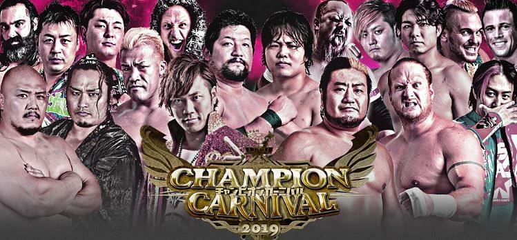 Champion Carnival is the most important event of the year at AJPW.