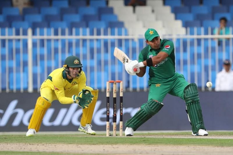 Umar Aamal scored 36 runs