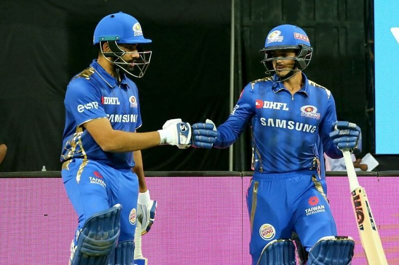 Rohit and De Kock will open the innings for MI