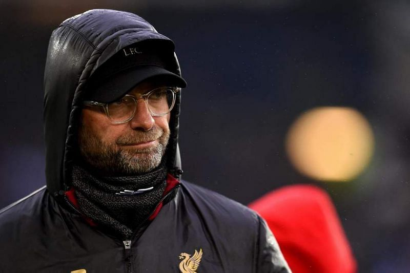 Klopp was not happy with Liverpool