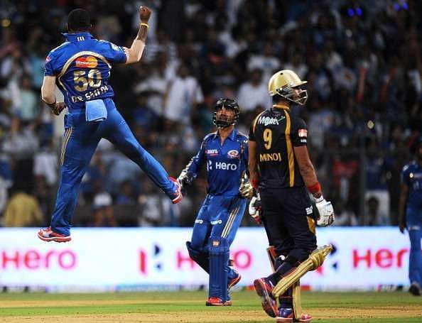 Top 5 lowest team totals in IPL history