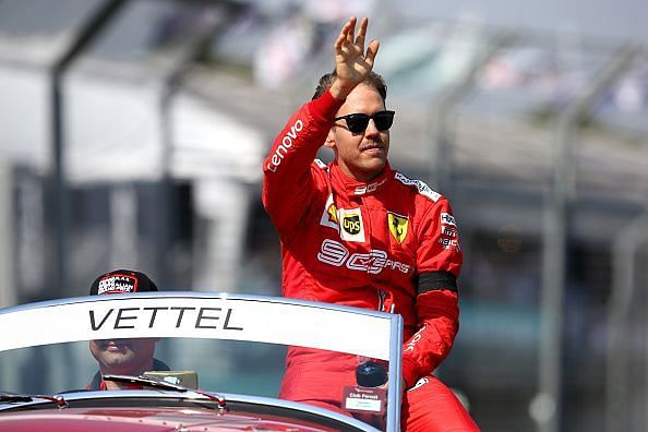 Last time around in Bahrain, Vettel was fast enough to grab