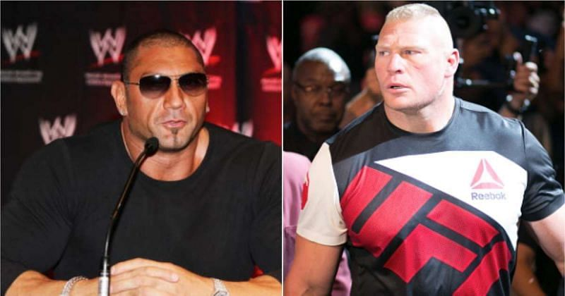 lesnar and batista