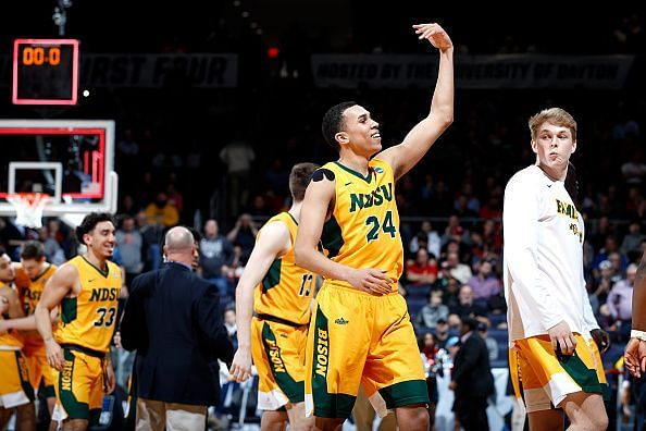 Tyson Ward dropped 23 points to help North Dakota State advance
