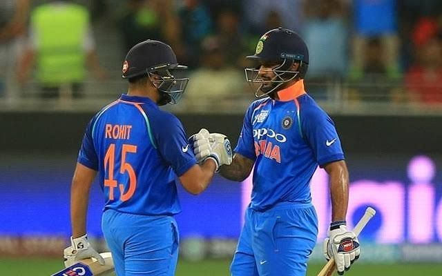 Rohit Sharma And Dhawan