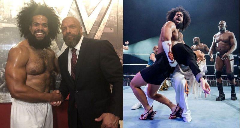 No Way Jose has a new look in WWE