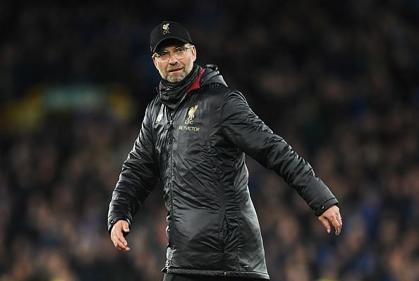 Jurgen Klopp is one of the premier managers in the world