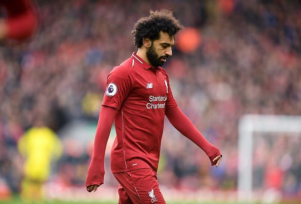 Mohamed Salah failed to score in the last seven games in all competitions