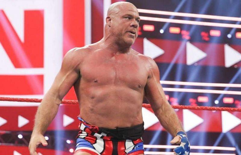 Kurt Angle will have his last ever match on Monday Night Raw.
