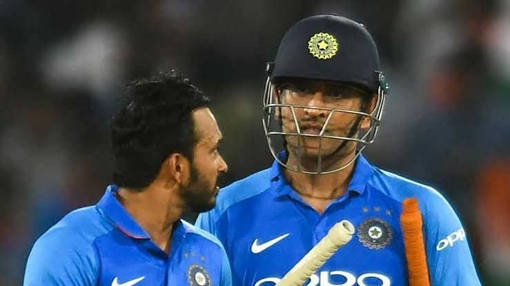 Jadhav and Dhoni played a key role in reviving India