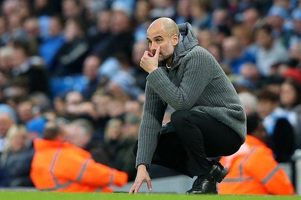 Pep Guardiola has an abundanceof stars at Manchester City.