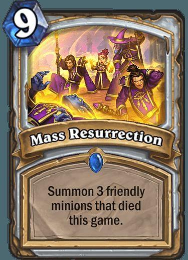 Image result for mass resurrection hearthstone