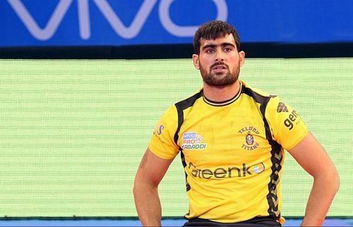 Rahul Chaudhari played six PKL seasons for the Telugu Titans