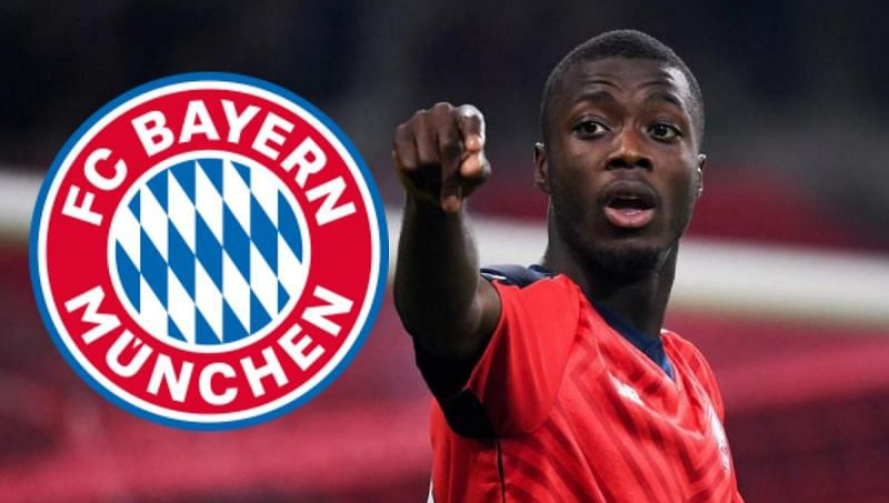 Nicolas Pepe has been on fire for LOSC Lille recently, could he be on his way to Munich?