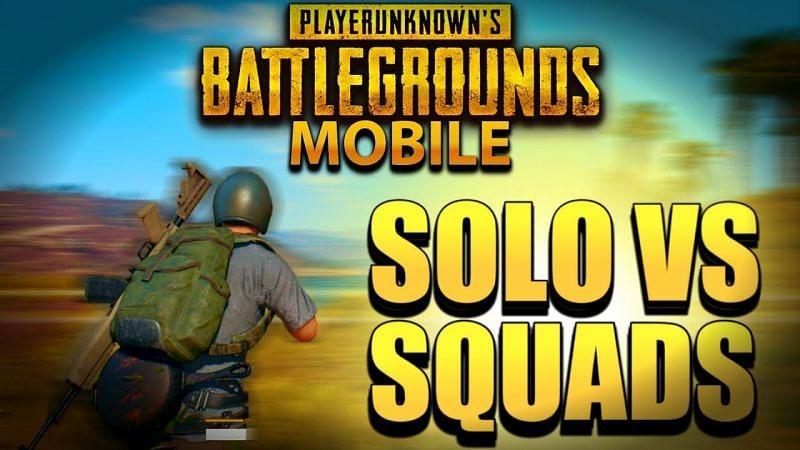 PUBG Solo vs SQUAD