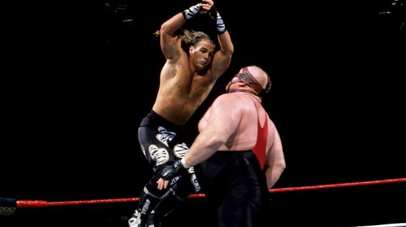 Shawn Michaels retained his title against Vader at Summerslam 1996