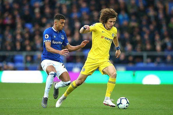 Luiz struggled as Everton grew in confidence as the second-half began
