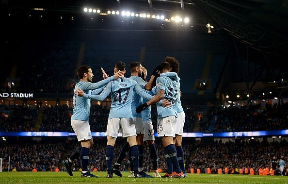 Manchester City v Burton Albion - Carabao Cup Semi Final: First Leg