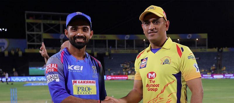 चेन्नई और राजस्थान के कप्तान
