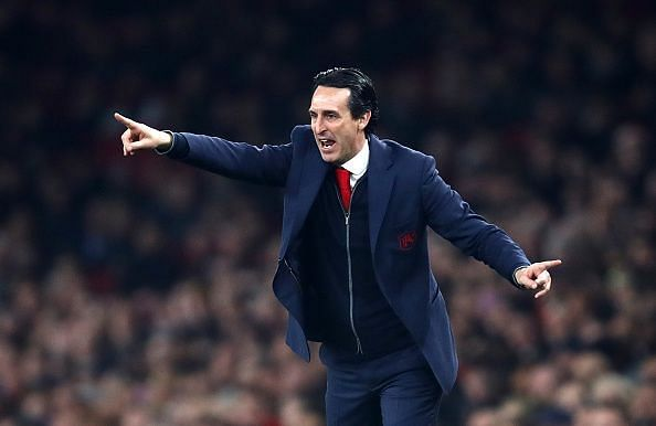 Unai Emery and his men take on Rennes in the Europa League