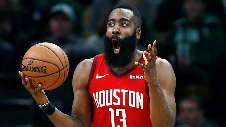 James Harden is the NBA