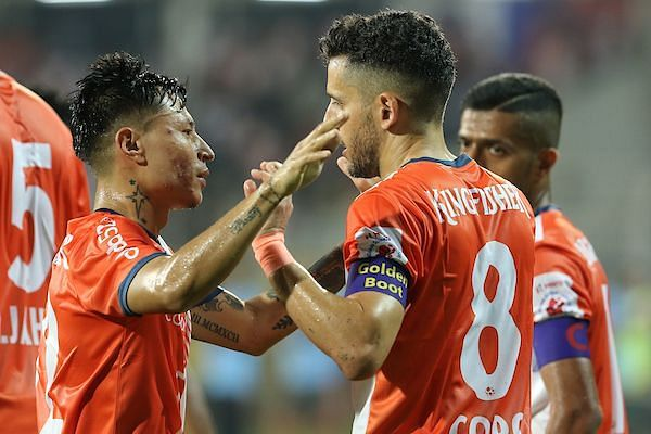 FC Goa once again proved that they are the best attacking force in the league by scoring a massive 36 goals in 18 matches (Image Courtesy: ISL)