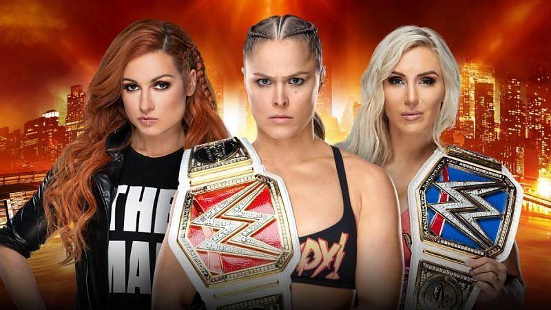 Wrestlemania 35 main event headlining women superstars