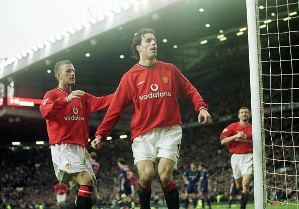 Ruud Van Nistelrooy and David Beckham are two of the finest players to play under Fergie