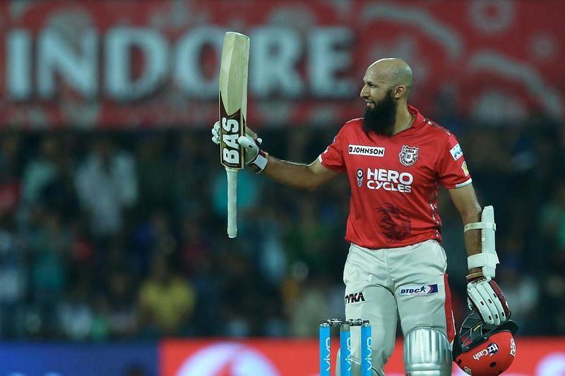 Hashim Amla played a stupendous knock against Rohit Sharma