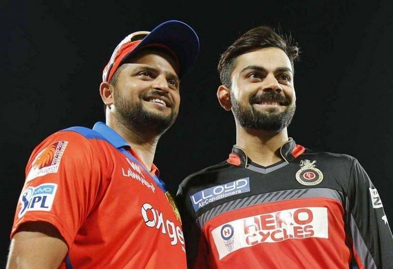 Virat Kohli & Suresh Raina