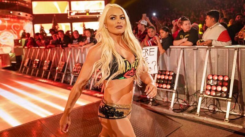 Mandy Rose has taken the SmackDown Live Women