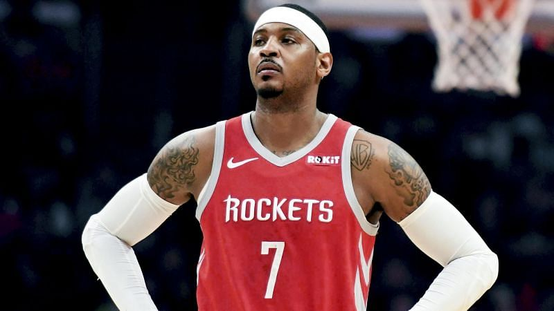 Carmelo Anthony left the Rockets after making just 10 appearances for the team