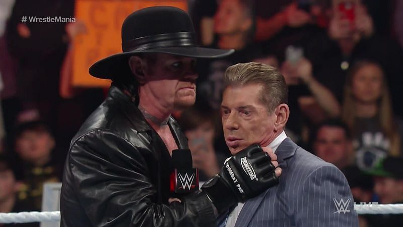 While The Undertaker had one of the greatest streaks at WrestleMania, Vince McMahon is nowhere near it