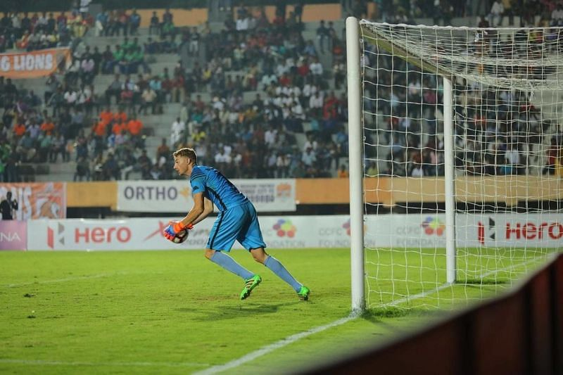 Boerchio has been a revelation for Chennai City FC in the I-League 18-19 season. Enter caption