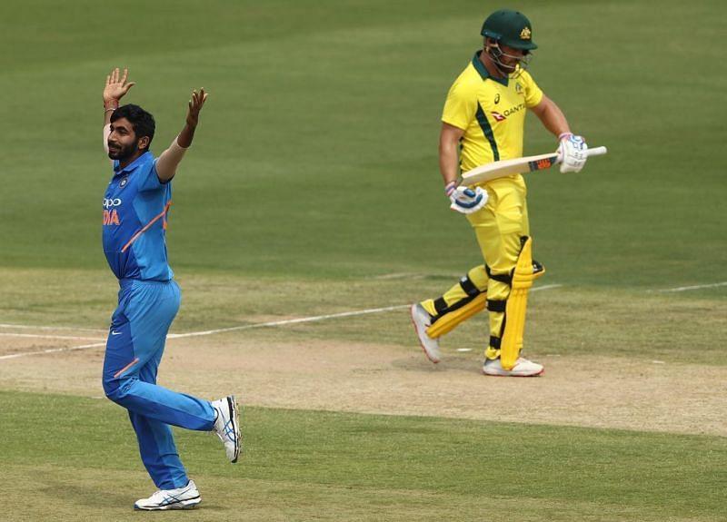Bumrah took wicket