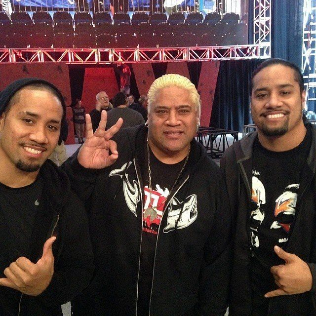 the usos with their father rikishi