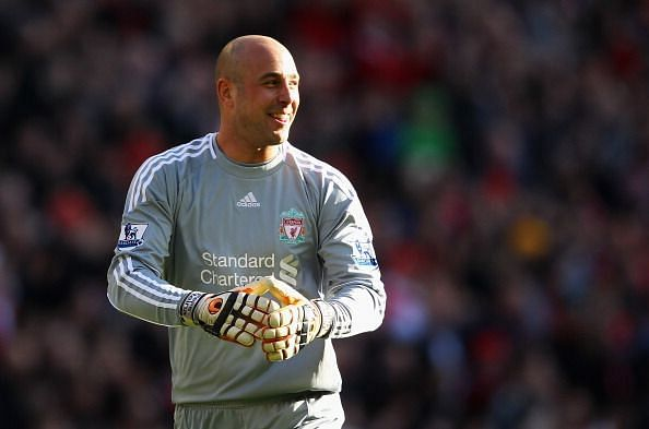 Pepe Reina was the top goalkeeper in England for three consecutive seasons.